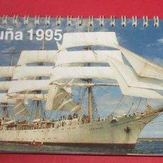 Coleccionismo Calendarios: CALENDARIO DE MESA. LA CORUÑA 1995.. Lote 191712878