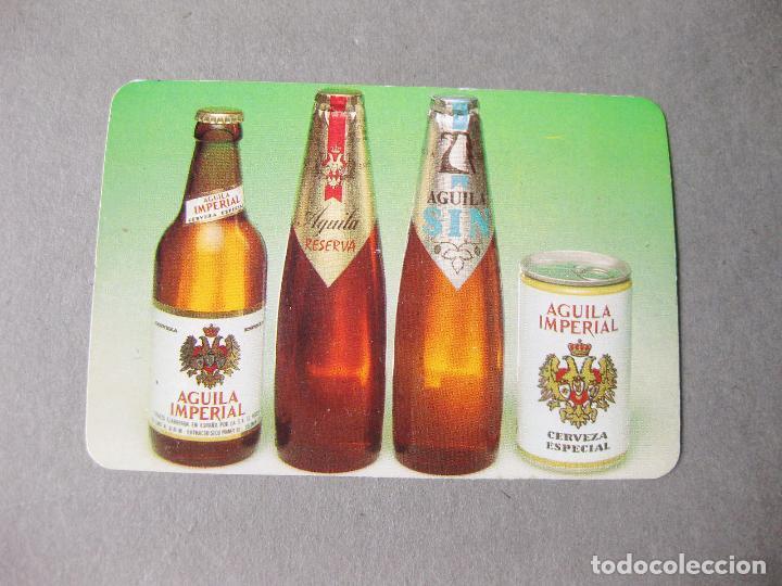 CALENDARIO PUBLICITARIO DE CERVEZAS EL AGUILA - REBEDOSA 1982 (Coleccionismo - Calendarios)