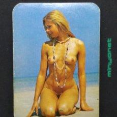 Coleccionismo Calendarios: CALENDARIO DE SERIE EDIJAR DE 1978 - CHICA DESNUDA - CAFÉS PRATS MERCADER. Lote 192513763