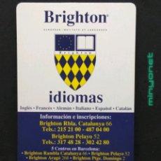 Coleccionismo Calendarios: CALENDARIO BRIGHTON 1995 1996. Lote 192542156