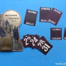 Coleccionismo Calendarios: PRECIOSO Y ANTIGUO CALENDARIO DISPLAY AÑOS 1930-1940 - VER FOTOS ADICIONALES. Lote 192580217