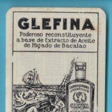 Coleccionismo Calendarios: CALENDARIO PARA 2º SEMESTRE DE 1930 Y PRIMER SEMESTRE DE 1931. GLEFINA. LABORATORIOS ANDRÓMACO.. Lote 192878501