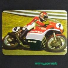 Coleccionismo Calendarios: CALENDARIO DE SERIE N° 213 DE 1982 - MOTOCICLISMO HONDA. CAFÉS PRATS MERCADER TERRASSA. Lote 193454256