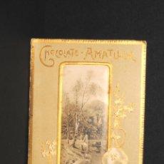 Coleccionismo Calendarios: ALMANAQUE AÑO 1904 - PUBLICIDAD CHOCOLATE AMATLLER. Lote 193951787