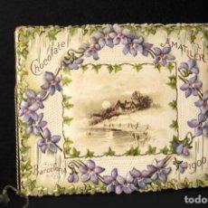 Coleccionismo Calendarios: ALMANAQUE AÑO 1900 - PUBLICIDAD CHOCOLATE AMATLLER. Lote 193952257