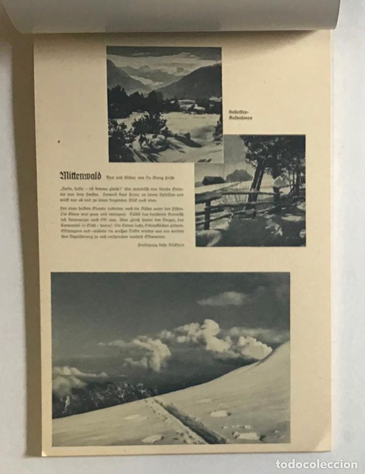Coleccionismo Calendarios: DEUTSCHER SKI-KALENDER. SKI-HEIL 1934. [Calendario, 1934.] ESQUÍ, ALPINISMO. - Foto 3 - 194000063