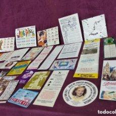 Coleccionismo Calendarios: LOTE DE UNOS 32 CALENDARIOS DE BOLSILLO RATOS A CLASIFICAR. Lote 194061495