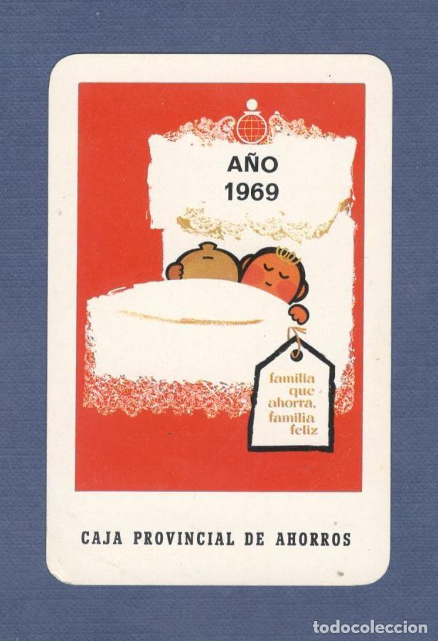 CALENDARIO DE BOLSILLO FOURNIER AÑO 1969 - CAJA PROVINCIAL DE AHORROS (Coleccionismo - Calendarios)