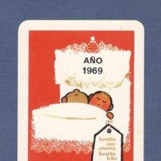 Coleccionismo Calendarios: CALENDARIO DE BOLSILLO FOURNIER AÑO 1969 - CAJA PROVINCIAL DE AHORROS. Lote 194237840