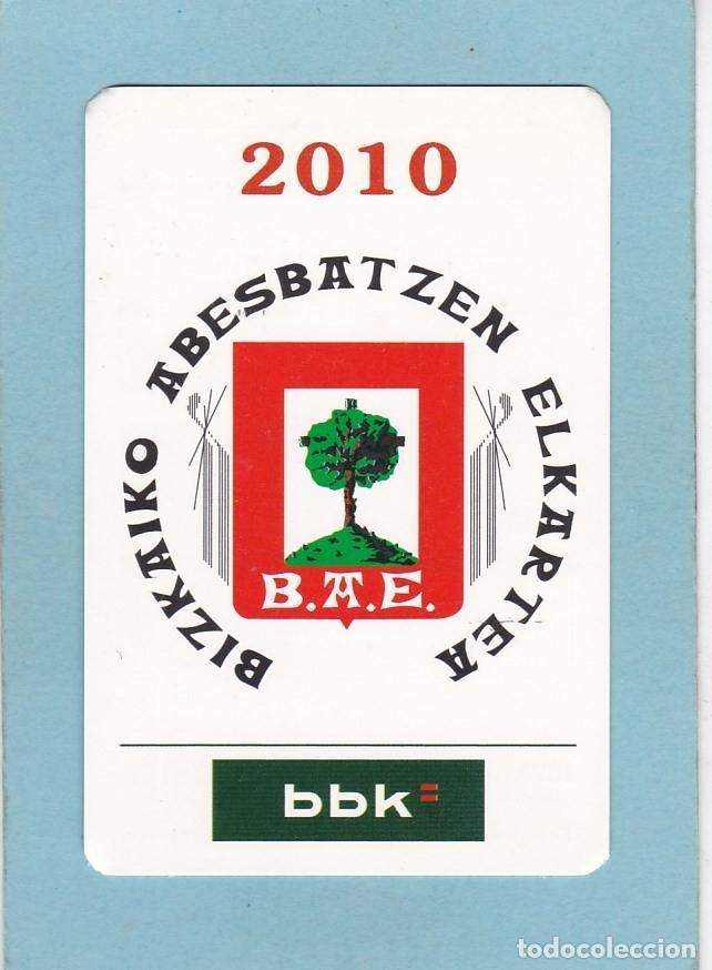 CALENDARIO 2010 - BBK - BANCOS. CAJAS (Coleccionismo - Calendarios)