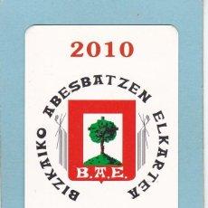 Coleccionismo Calendarios: CALENDARIO 2010 - BBK - BANCOS. CAJAS. Lote 194238445