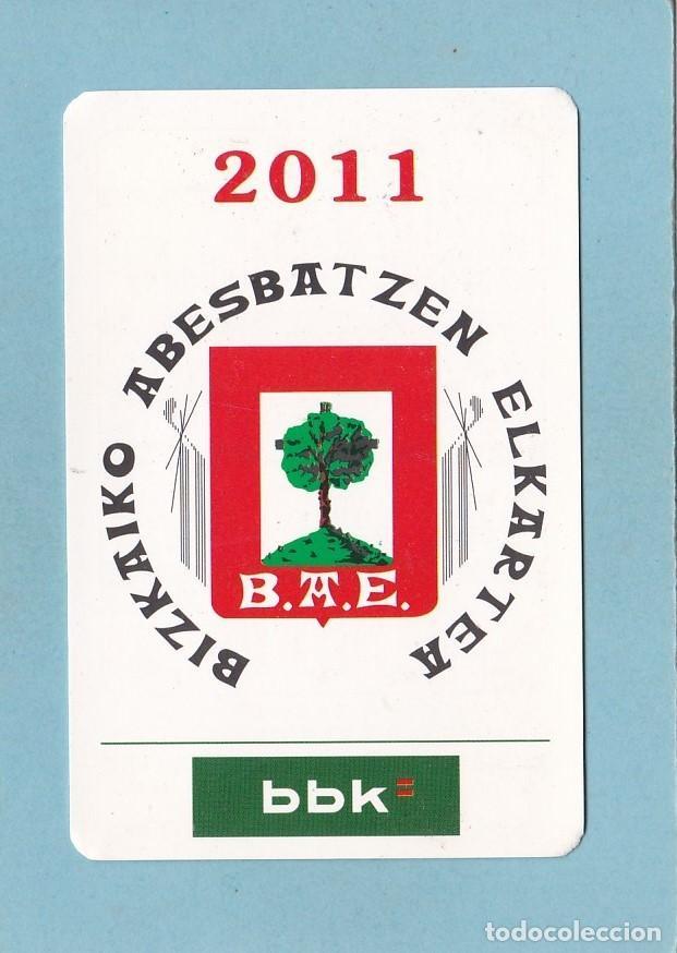 CALENDARIO 2011 - BBK - BANCOS. CAJAS (Coleccionismo - Calendarios)