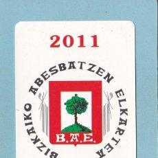 Coleccionismo Calendarios: CALENDARIO 2011 - BBK - BANCOS. CAJAS. Lote 194238531