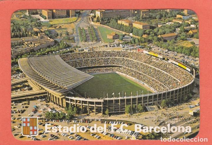 CALENDARIO PORTUGAL 1986 - ESTADIO DEL F.C. BARCELONA (Coleccionismo - Calendarios)
