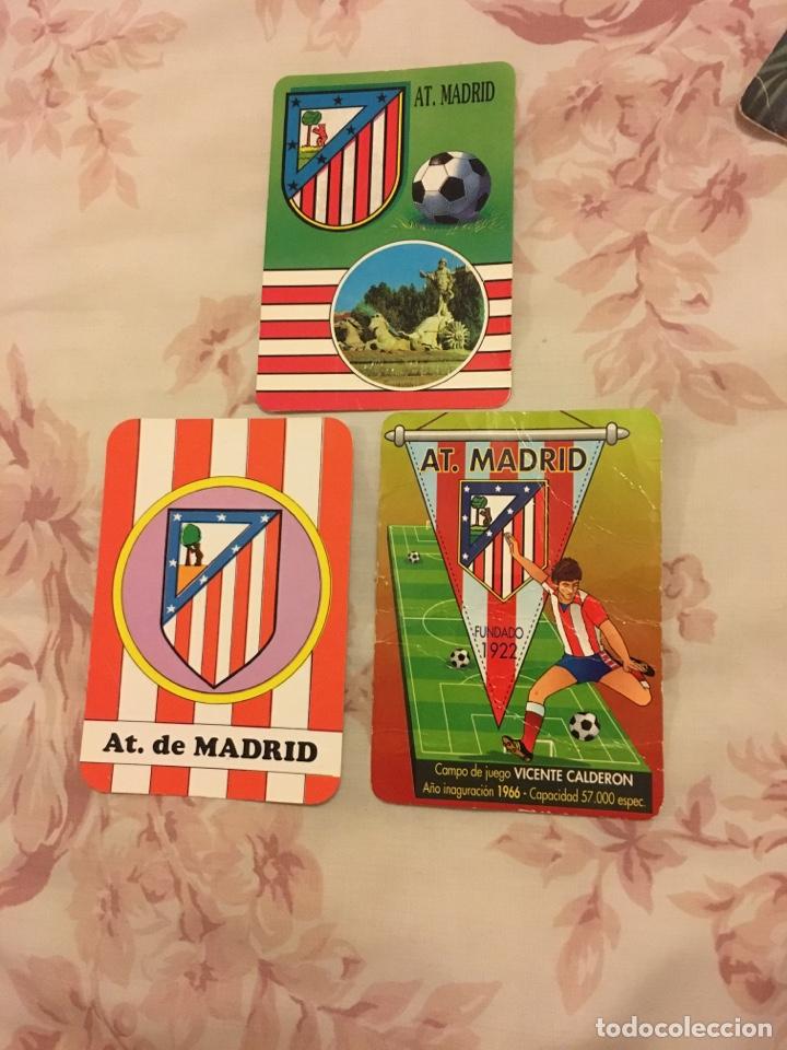 ATLÉTICO DE MADRID LOTE DE 3 CALENDARIOS (Coleccionismo - Calendarios)