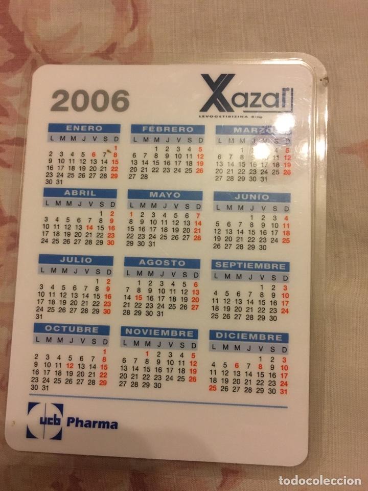 Coleccionismo Calendarios: XAZAL calendario calificación de añadas - Foto 2 - 194252158
