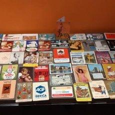 Coleccionismo Calendarios: LOTE DE 100 CALENDARIOS DE BOLSILLO TODO TIPO DE TEMÁTICAS VER FOTOS (SALIDA1€). Lote 194266427