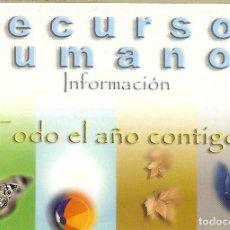 Coleccionismo Calendarios: CALENDARIO PUBLICITARIO - 2003 - RECURSOS HUMANOS SERVICIO CANARIO DE SALUD. Lote 194266493