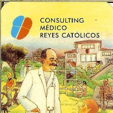 Coleccionismo Calendarios: CALENDARIO PUBLICITARIO - 2004 - CONSULTING MÉDICO REYES CATÓLICOS - AVILA. Lote 194266710