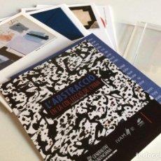 Coleccionismo Calendarios: CALENDARIO 2009 L'ABSTRACCIO EN LA COL.LECCIO DEL IVAM. PAPEL Y METACRILATO 14X12CM. Lote 194282567