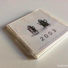 Coleccionismo Calendarios: CALENDARIO 2003 COLECCIÓN ALFARO HOFMANN. METACRILATO Y PAPEL 10X9.5CM. Lote 194283656