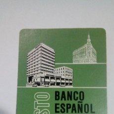 Coleccionismo Calendarios: CALENDARIO FOURNIER BANCO ESPAÑOL DE CREDITO BANESTO 1975. Lote 194330645