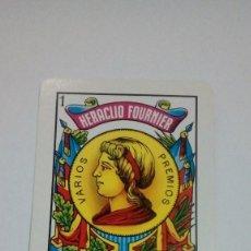 Coleccionismo Calendarios: CALENDARIO FOURNIER AS DE OROS HERACLIO FOURNIER VITORIA 1990 BUEN ESTADO . Lote 194330818