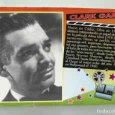 Coleccionismo Calendarios: CALENDARIO DE BOLSILLO CINE CLARK GABLE 2000. Lote 194358130
