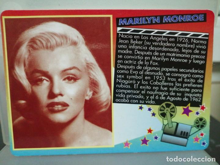 CALENDARIO DE BOLSILLO CINE MARILYN MONROE 2000 (Coleccionismo - Calendarios)