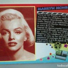 Coleccionismo Calendarios: CALENDARIO DE BOLSILLO CINE MARILYN MONROE 2000 . Lote 194358141