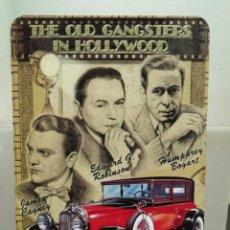 Coleccionismo Calendarios: CALENDARIO DE BOLSILLO CINE GANGSTERS HOLLYWOOD 2004. Lote 194358157