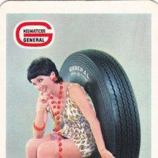 Coleccionismo Calendarios: CALENDARIO DE BOLSILLO PUBLICIDAD .--. AÑO 1971 .-- NEUMATICOS GENERAL .---- . VER FOTO ADICIONAL. Lote 194506742