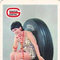 Coleccionismo Calendarios: CALENDARIO DE BOLSILLO PUBLICIDAD .--. AÑO 1971 .-- NEUMATICOS GENERAL .---- . VER FOTO ADICIONAL. Lote 194506855