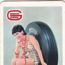 Coleccionismo Calendarios: CALENDARIO DE BOLSILLO PUBLICIDAD .--. AÑO 1971 .-- NEUMATICOS GENERAL ---- . VER FOTO ADICIONAL. Lote 194507537