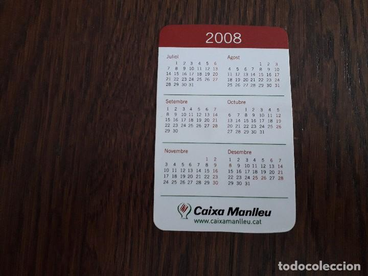 Coleccionismo Calendarios: calendario de publicidad Caixa Manlleu año 2008 en catalán. - Foto 2 - 194534632