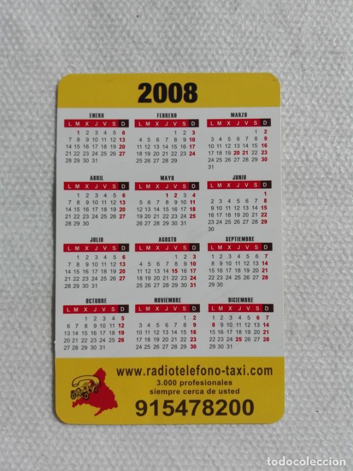 CALENDARIO BOLSILLO 2008 - MOBIPAY / RADIOTELEFONO-TAXI MADRID (Coleccionismo - Calendarios)