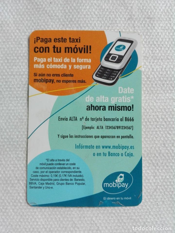 Coleccionismo Calendarios: calendario bolsillo 2008 - MOBIPAY / RADIOTELEFONO-TAXI MADRID - Foto 2 - 194534843