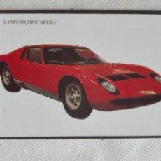 Coleccionismo Calendarios: CALENDARIO BOLSILLO 1995 PORTUGAL - LOBO DAS NEVES - COCHE AUTOMOVIL LAMBORGHINI. Lote 194541846