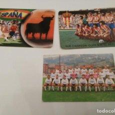 Coleccionismo Calendarios: MIERES - SUB CAMPEON COPA EL REY 1981 - ESPAÑA TORO OSBOURNE. Lote 194541946