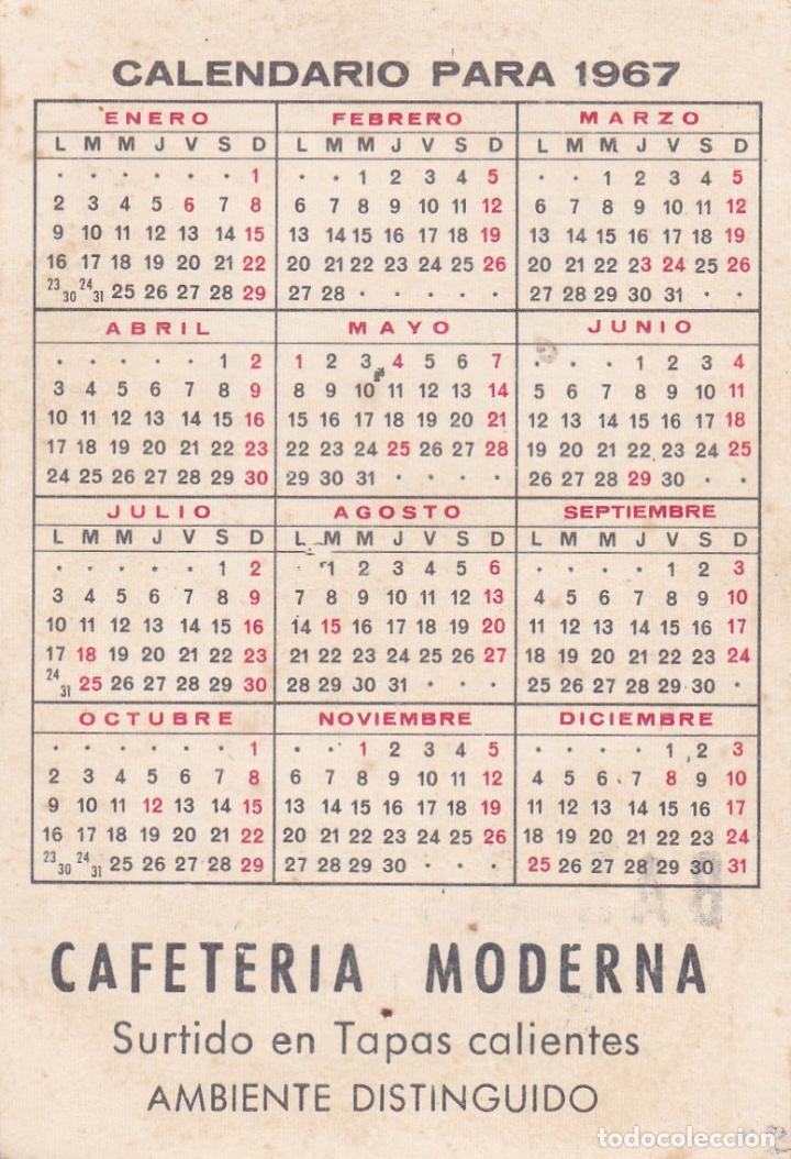 Coleccionismo Calendarios: CALENDARIO DE BOLSILLO PUBLICIDAD .--. AÑO 1967 .-BAR 3 PUERTAS VALLS .----- VER FOTO ADICIONAL - Foto 2 - 194556473