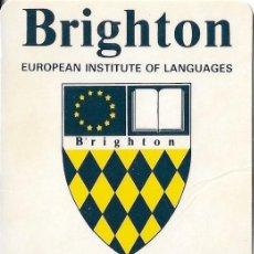 Coleccionismo Calendarios: CALENDARIO 1990 BRIGHTON. Lote 194593380