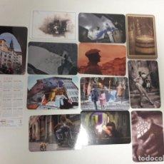 Coleccionismo Calendarios: CALENDARIO PUBLICITARIO. 12 CALENDARIOS. SERIE COMPLETA. CASCO MEDIEVAL DE VITORIA. AÑO 2020. Lote 194616857