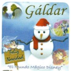Coleccionismo Calendarios: CALENDARIO DE PUBLICIDAD 2007 AYUNTAMIENTO DE GÁLDAR. Lote 194634912