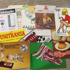 Coleccionismo Calendarios: CALENDARIOS, DIEZ. Lote 194636118