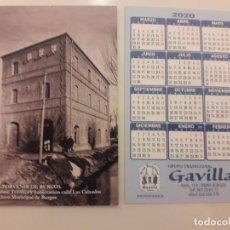 Coleccionismo Calendarios: CALENDARIO PUBLICITARIO. GRUPO TRADICIONAL GAVILLA. AÑO 2020 . Lote 194684548