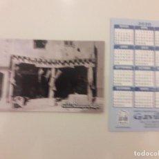 Coleccionismo Calendarios: CALENDARIO PUBLICITARIO. GRUPO TRADICIONAL GAVILLA. AÑO 2020 . Lote 194684610