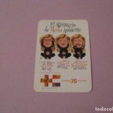Coleccionismo Calendarios: CALENDARIO EL MINISTERIO MEDIO AMBIENTE 1998. Lote 194731278