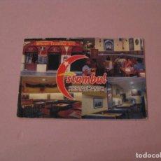 Coleccionismo Calendarios: CALENDARIO RESTAURANTE ESTAMBUL. MALAGA. 2002.. Lote 194731733