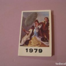 Coleccionismo Calendarios: CALENDARIO ALMANAQUE LIBRETA 1979. IMAGENGOYA EL QUITASOL, PUBL. BAR CASA MARQUEZ, MALAGA.. Lote 194734165