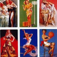 Coleccionismo Calendarios: 9 CALENDARIOS DE BOLSILLO CHICAS DE NAIPES COMAS - AÑO 2007. Lote 194751973